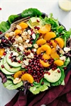 Pomegranate Orange Salad