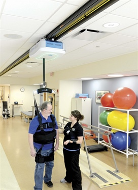SafeGait gives Thompson Health patients new confidence